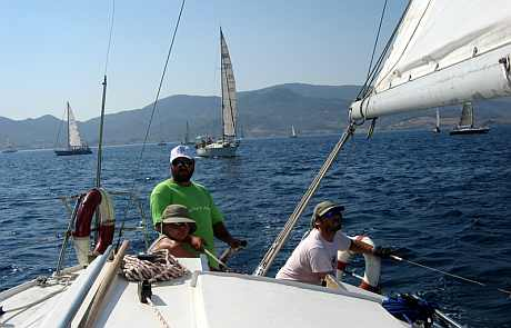 ziua #2 - aegean sea regatta