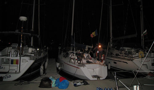 ultimele pregatiri in Marina Mangalia