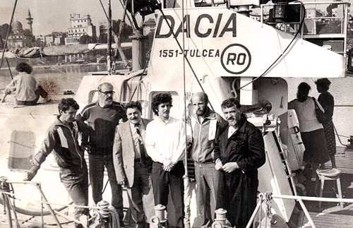 Emil Braharu, Toni Capatina, Radu Daniel, Horia Bolboceanu, Vasile Antip